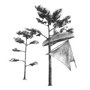Martikainen Aleksi, Vene puussa