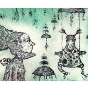 Teoskuva: Viitala Marje - Rouva Shjerpek ja hänen keinunsa