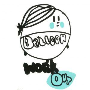 Tuominen Jenni, Balloon Work Out