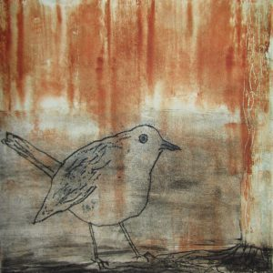 Teoskuva: Kaustinen Marianne - Punarinta syyskuussa