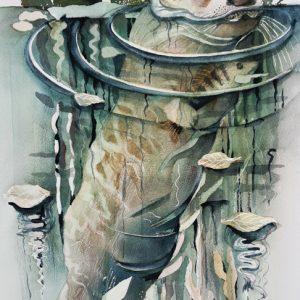 Teoskuva: Lehtimäki Tiina - Saukon saalis