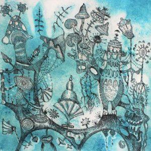 Teoskuva: Viitala Marje - Botanical III