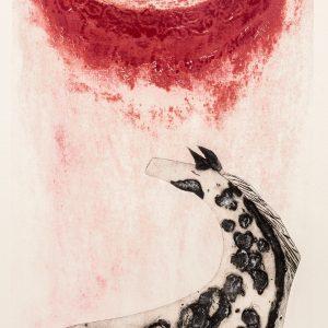 Teoskuva: Ala-Olla Merja - Punainen kuu