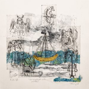 Teoskuva: Jaakkola Tiina - He kävelivät vetten päällä