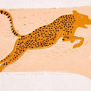 Teoskuva: Jussila Kaisa - Loikkaava leopardi