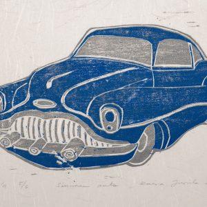 Teoskuva: Jussila Kaisa - Sininen auto