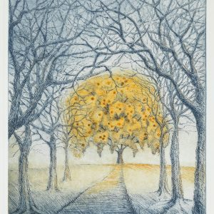 Teoskuva: Talvitie Leena - Huhtikuun puutarha