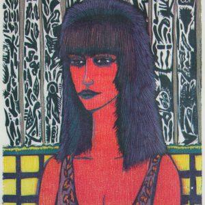 Teoskuva: Peltonen Tuukka - Red Woman